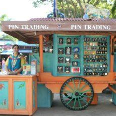 Disney Trading Pin Kiosk