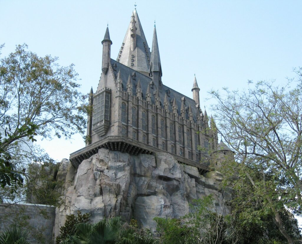 Hogwarts High on the hill