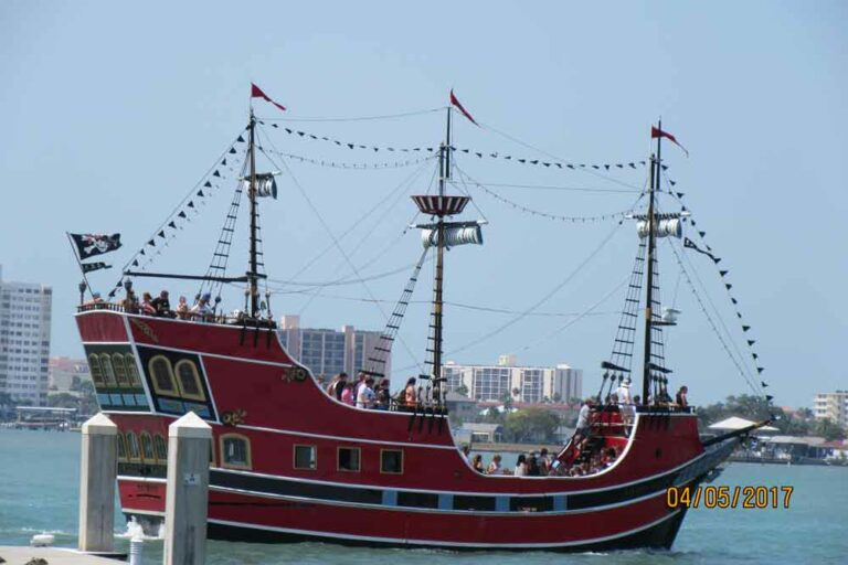 Pirate Boat at John's Pass