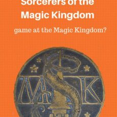 So, what about this myth of the Sorcerers of the Magic Kingdom game?