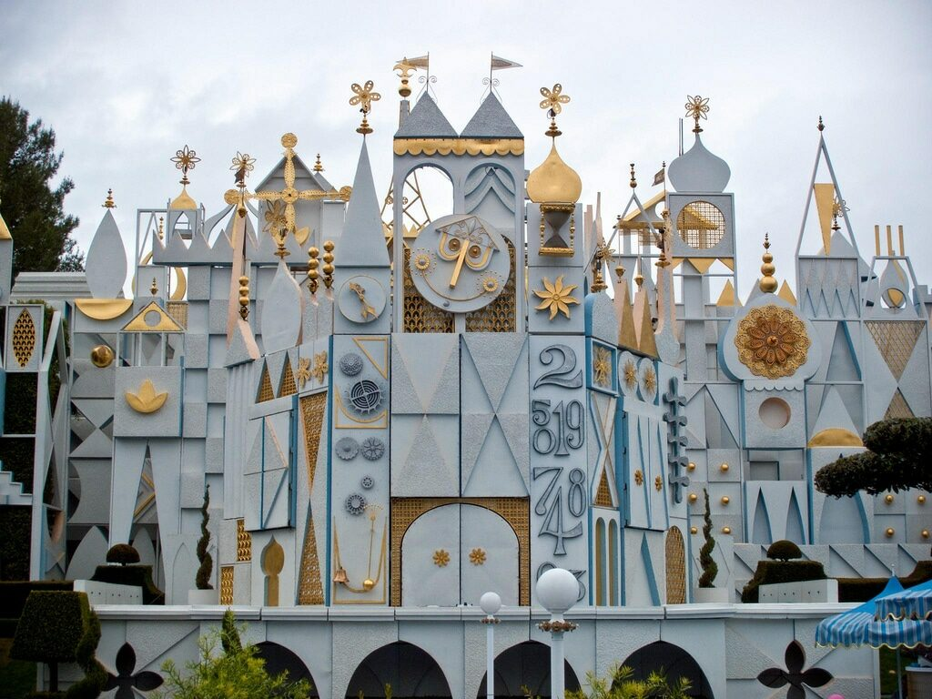Entrance to the Its a Small World ride