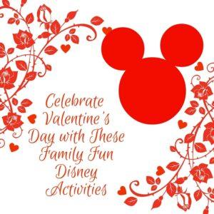 Valentine's Day Disney Activities