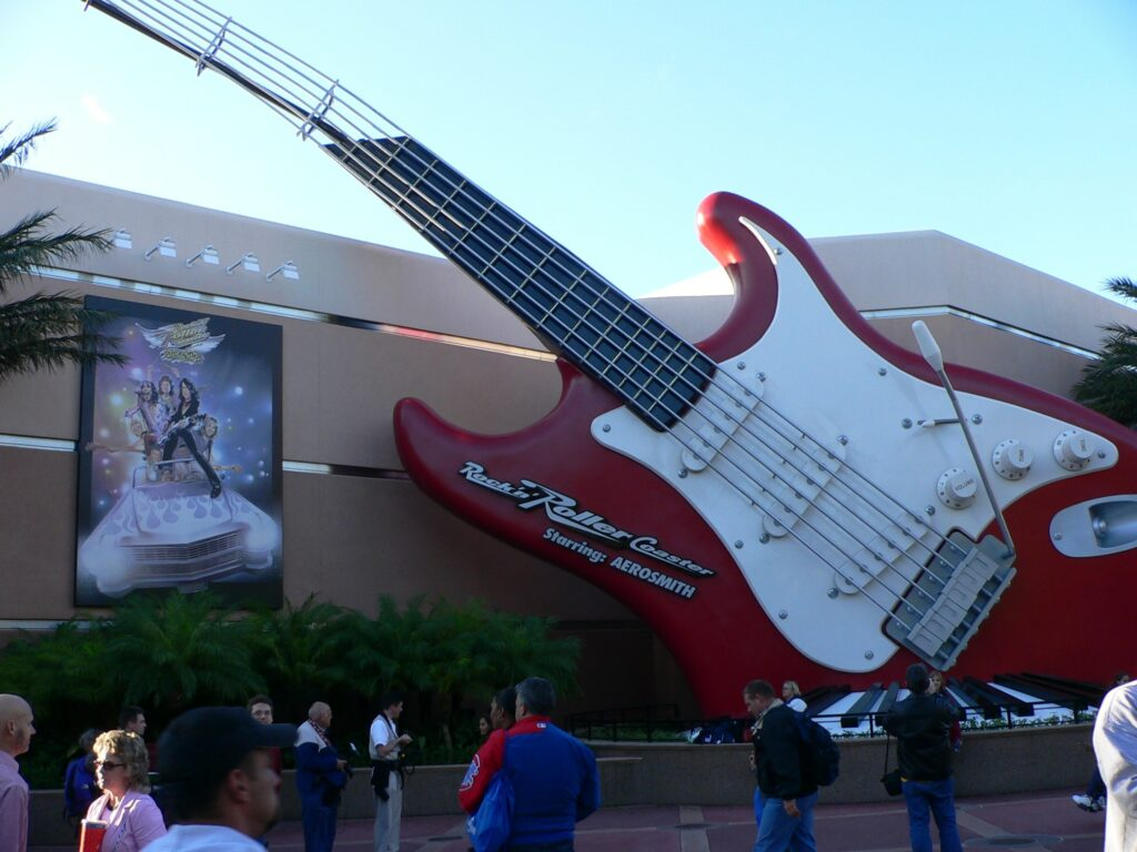 Disney's Hollywood Studios Rock n Roller Coaster