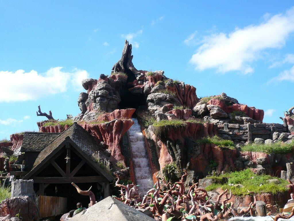 Splash Mountain at the Magic Kingdom
