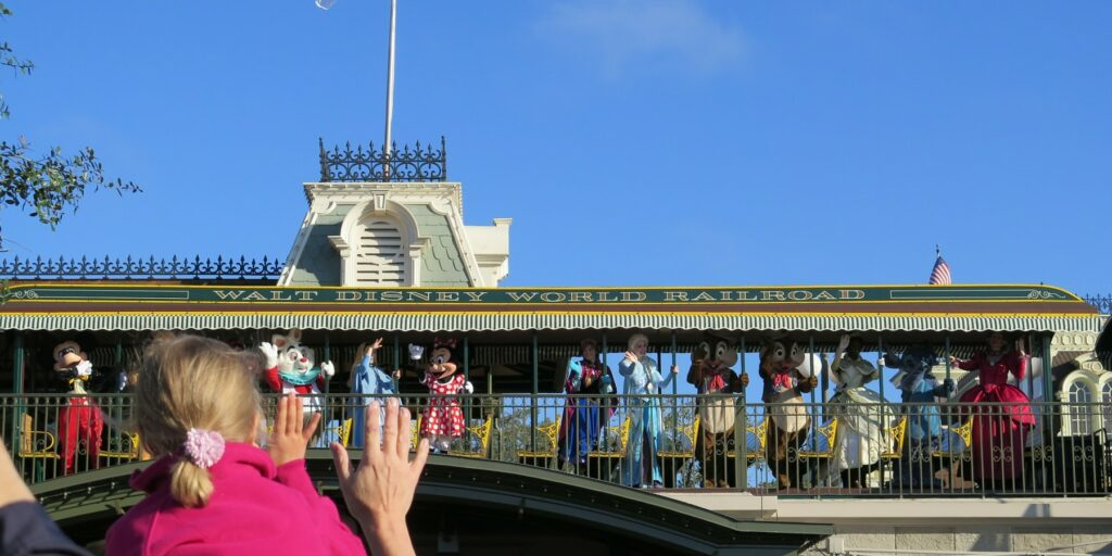 Opening Stage Show Changing at the Magic Kingdom