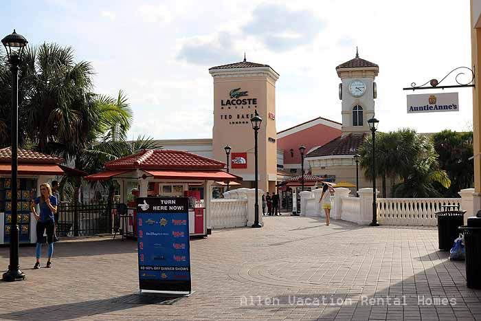 Outlet malls