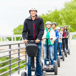 Group of Segway Riders