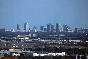 Downtown Orlando from the Orlando Eye