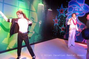 Michael Jackson at Madame Tussaud