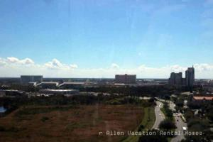 looking west from the Orlando Eye